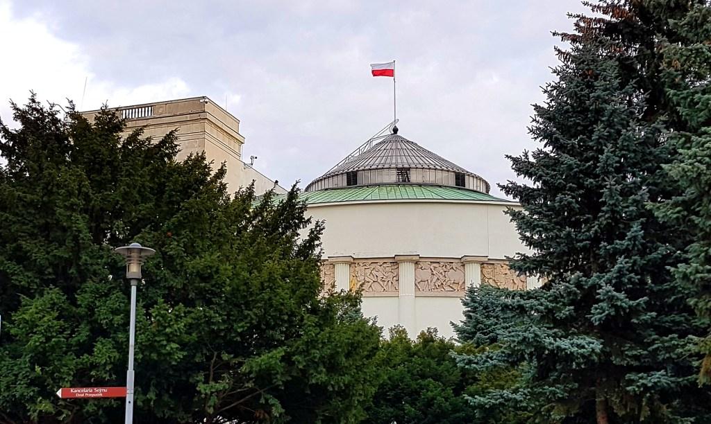 Weekend w Warszawie - budynek Sejmu