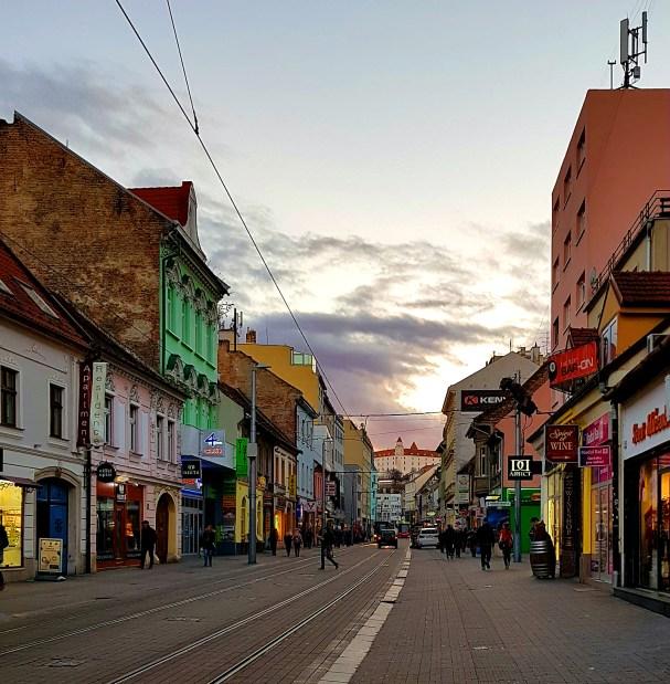 Ciekawe miejsca w Bratysławie - ulica Obchodna