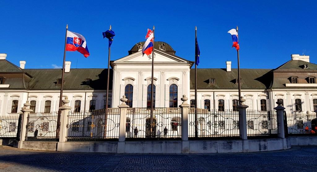 Ciekawe miejsca w Bratysławie - Pałac Prezydencki