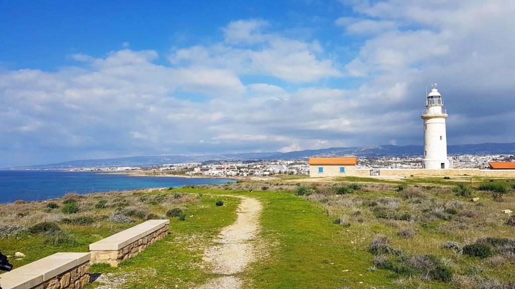 Co warto zobaczyć w Pafos? - latarnia morska w Parku Archeologicznym