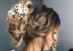 10 idées de coiffure de mariée, chignons mariée, tresses mariée