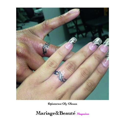 Un Tatouage Pour Son Alliance De Mariage Mariage Beaute
