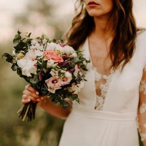 Bouquet de mariée, mariage, Nîmes, fleuriste
