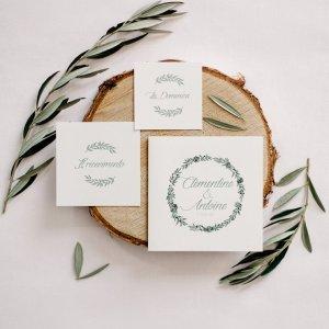 Invitation de mariage, papeterie mariage