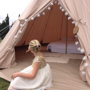 étoile et toiles, hébergements, tentes tipis, mariage, Montpellier