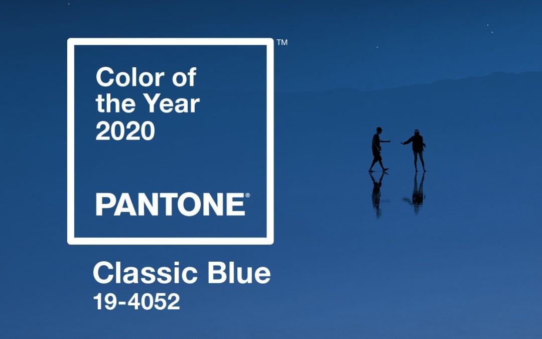 La couleur de l'année 2020, Classic Blue