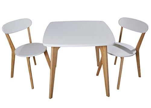 Massiv esstisch küchentisch 180 x 90 cm natur grau tisch ...