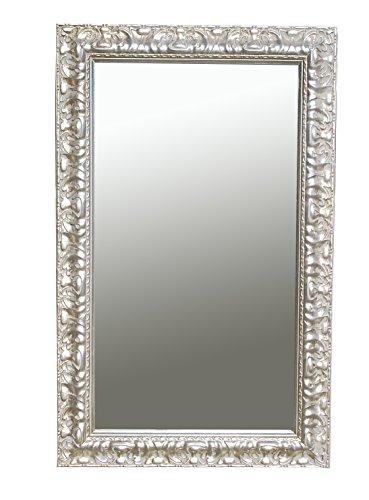 Spiegel Wandspiegel Stella antik silber 80 x 50 cm