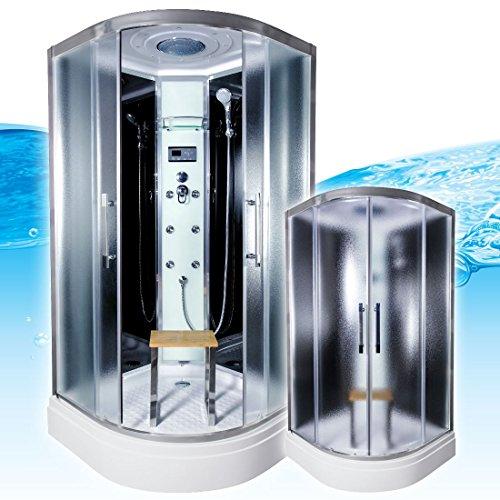 AcquaVapore QUICK26-1311 Dusche Duschtempel Komplette Duschkabine -Th 90x90