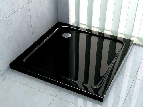 50 mm Duschtasse 90 x 90 cm (schwarz)