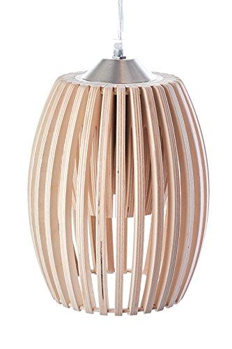 MK Design, Holz Pendellampe Pendelleuchte Hängelampe Avilo Natur