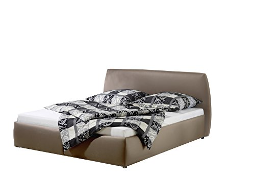 Maintal Betten 232653-4130 Polsterbett Minu 180 x 200 cm, Kunstleder