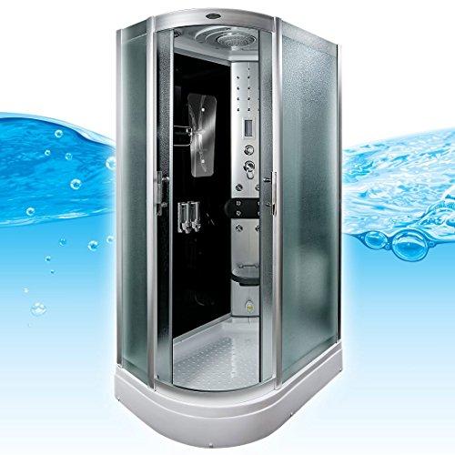 AcquaVapore DTP8060-7310L Dusche Duschtempel Komplett Duschkabine 120x80