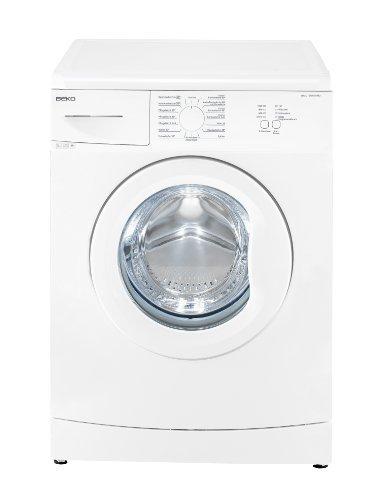 Beko WML 15106 MNE+ Waschmaschine / A+ / 168 kWh/Jahr / 1000 UpM / 9900 L/Jahr / 5 kg / weiß / Nur 41 cm tief / Mengenautomatik / Mini 30-Programm / 15 Waschprogramme