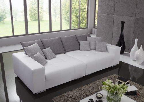 Big Leder Sofa – Made in Germany – Italienisches Leder - Freie Farbwahl ohne Aufpreis aus 26 Lederfarben – Nahezu jedes Sondermaß möglich! Sprechen Sie uns an. Info unter 05226-9845045 oder info@highlight-polstermoebel.de