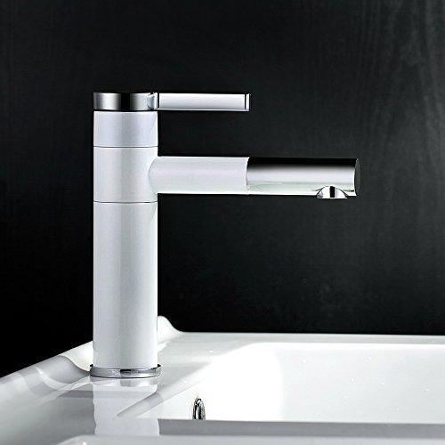 Dailyart® Ideal Standard 360-Grad-Drehung Einhand- Bad Wasserhahn Chrom Armaturen fürs Bad Badarmaturen Badezimmer Wasserhahn
