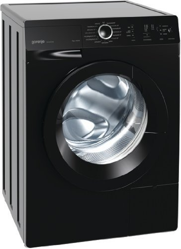 Gorenje W 7243 PB Waschmaschine FL / A+++ / 7 kg / 1400 UpM / schwarz / AquaStop / SensoCare-Waschsystem / Quick 17 / Colour Collection