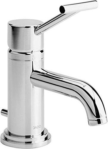 Ideal Standard Waschtisch -Einhebelmischer Haven für Handwaschbecken mit T-Griff und Garnitur, 107 mm, verchromt, H2562AA