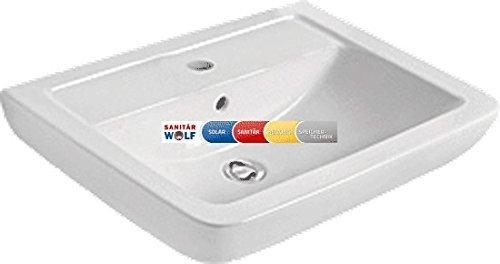 Ideal Standard IDS Waschtisch EUROVIT PLUS eckig 60cm weiß