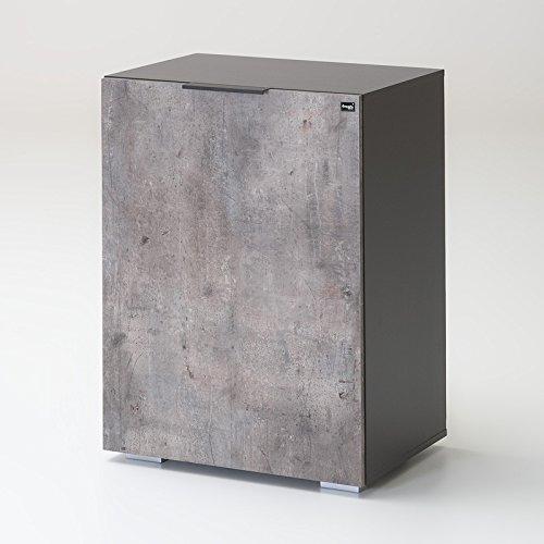 Kommode Herrenkommode CORGA166 lava, beton