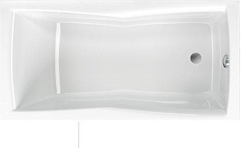 Rechteck Badewanne Bari 150 | 150x75x46cm