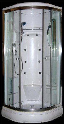 Sascom SAS-150 Duschkabine für Eck-Duschen, 900x900mm