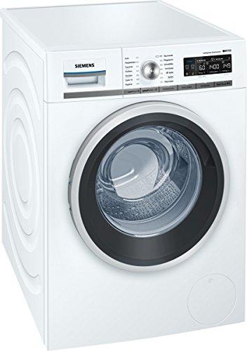 Siemens WM14W640 iQ700 Waschmaschine FL/A+++/137 kWh/Jahr/1400 UpM/8 kg/Weiß/9900 L/Jahr/Aquastop