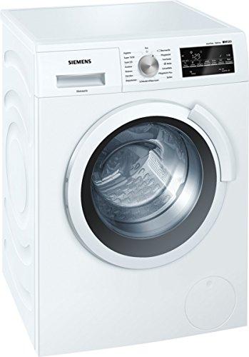 Siemens WS12T440 iQ500 Waschmaschine FL/A+++/1200 UpM/6,5 kg/VarioSoft Trommelsystem/WaterPerfect/Nachlegefunktion/speedPerfect/weiß