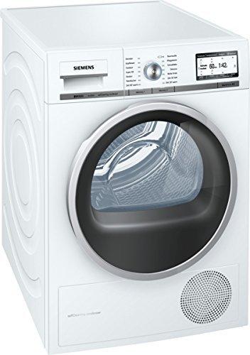 Siemens WT48Y7W3 iQ800 Wärmepumpentrockner/A+++/8 kg/Weiß/Restlaufanzeige