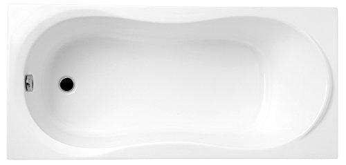 TOP-PREIS Rechteck Badewanne Wanne DESIGN 170x70 cm mit Füßen und Ablaufgarnitur