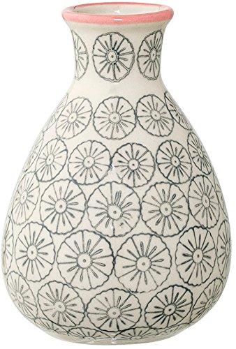Bloomingville Vase Cecile 6,5 x 11 cm grau