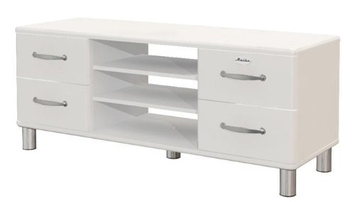 Tenzo Malibu Sideboard - TV - Bank 5158 weiß