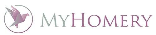 myHomery Kuscheldecke - Stern- & Hirsch-Decke aus Baumwolle - Decke fürs Sofa mit Kettelrand - Wolldecke warm & kuschelig - Sofadecke XL
