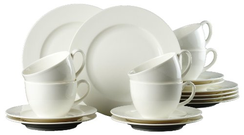 Ritzenhoff & Breker Kaffeeservice Solino, 18-teilig, Porzellangeschirr