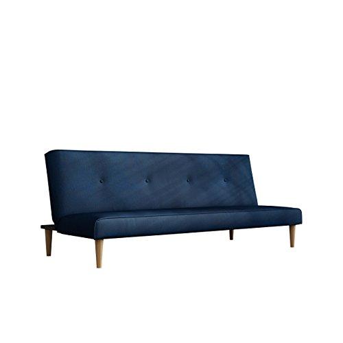 Sofa Kati mit Schlaffunktion, Lounge Couch, Farbauswahl, Modernes Bettsofa Schlafcouch Schlafsofa, Couch vom Hersteller (Kronos 09)