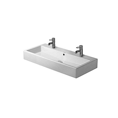 Duravit Waschbecken Vero-Vero 100cm Arbeitsplatte Design Weiß