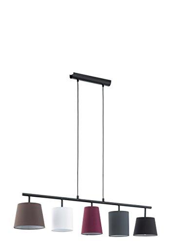 EGLO Hängeleuchte Stahl E14, Bunt 105 x 20 x 110 cm