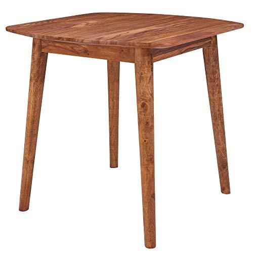FineBuy Esszimmertisch Sheesham Massivholz Tisch   Designer Küchentisch Holz   Massiver Holztisch Rustikal   Speisetisch Massives Echt-Holz Modern