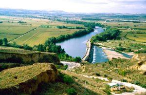 Kastilien Toro Landschaft romanische Bruecke (1)