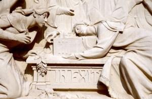 Maestrazgo Teruel Sarkophag Die Liebenden