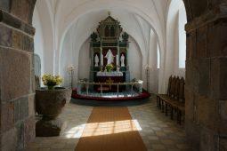 Bøstrup Kirke Indendørs
