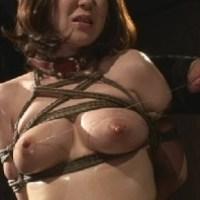 乳房枷で変形した乳首を執拗に責められ悶える女子大生 原望美