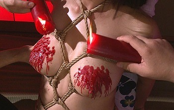 縄映えする美人社長秘書 蝋燭滴る緊縛中出し性交の緊縛快楽に堕ちていく佐倉ねね