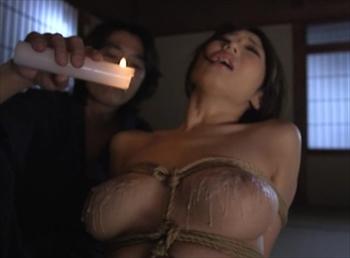 緊縛乳首クリップ責めに臀部と乳房の蝋燭責め、鞭打ちスパンキングに浣腸排泄!被虐のマゾ女優、小早川怜子 篠田あゆみ