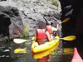 Kayak Ribera del Hueznar