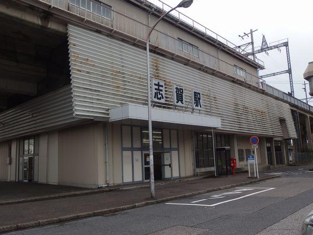 「JR湖西線 志賀駅」はこんな感じ