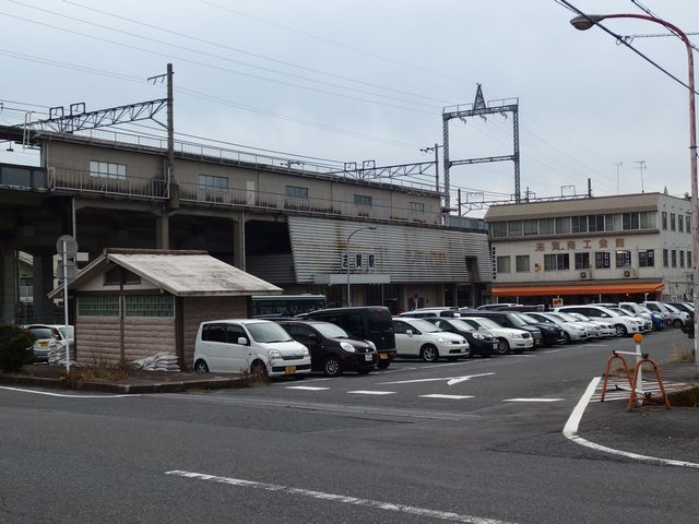 志賀駅駐車場