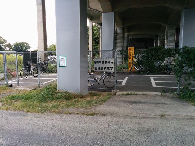 北小松駅の駐輪場