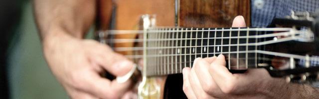 家でできるギター
