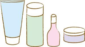眉毛を清潔に保つ洗浄剤の画像